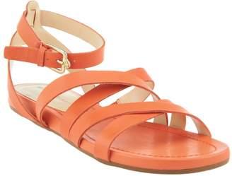 Isaac Mizrahi Live! Leather Gladiator Sandals