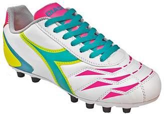 Diadora Women's Capitano Lt MD PU Leather Soccer Shoes (7 B(M) US Women's, )