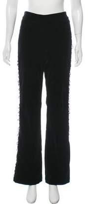 Couture St. John Velvet Mid-Rise Pants w/ Tags