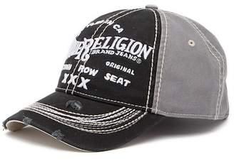 True Religion 'Triple X' Baseball Cap