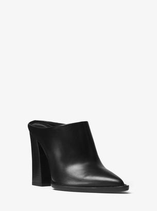 Michael Kors Bond Leather Mule