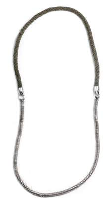 Lulu Frost George Frost 50/50 Necklace- Olive