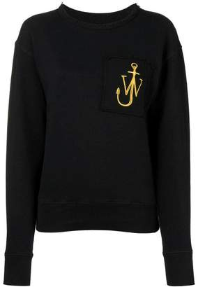 J.W.Anderson embroidered logo sweatshirt