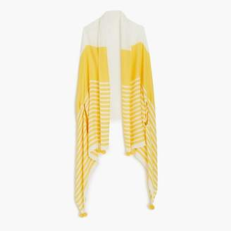 J.Crew Summerweight cape-scarf in yellow