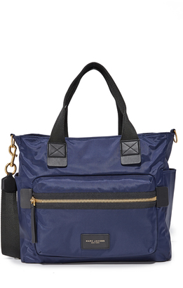 Marc Jacobs Nylon Biker Baby Bag $295 thestylecure.com