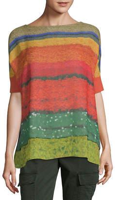 Akris Woven Silk Top