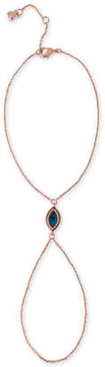 Rachel Roy Rose Gold-Tone Marquise Abalone-Look Stone Hand Chain