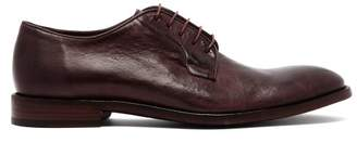 Paul Smith Chester Leather Derby Shoes - Mens - Burgundy