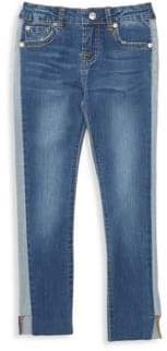 7 For All Mankind Little Girl's Raw-Cuff Jeans