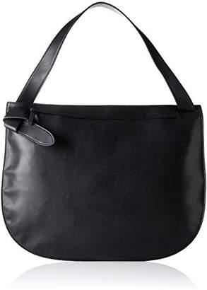French Connection Clean Minimalism Reva Dumpling, Women's Shoulder Bag, Mehrfarbig (Black/shiny Silver), (B x H T)