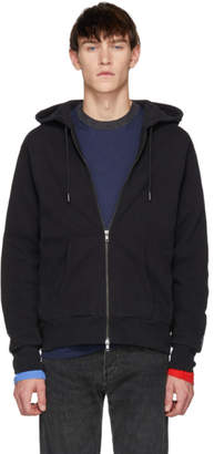 Levi's Levis Made And Crafted Levis Made and Crafted Black Zip-Up Hoodie