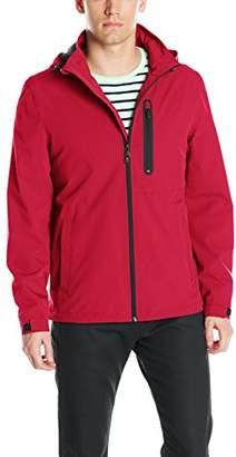 Perry Ellis Men's Stetch Poly Packable Jacket