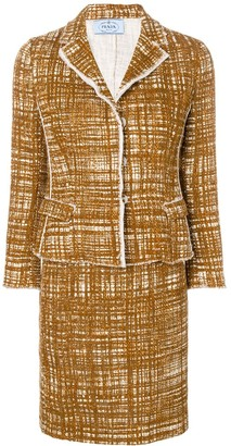 Prada Pre-Owned bouclé two-piece suit