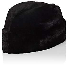 Crown Cap Men's Fur Envoy Hat - Black