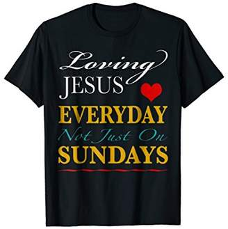 I Love Jesus T-Shirt With Positive Religious Message