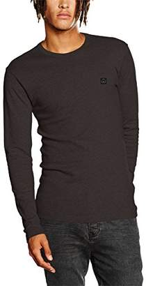 Duck and Cover Men's Stock T-Shirt, (Light Grey Marl)