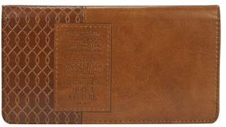 Christian Art Gifts Brown Checkbook Cover Plans Jer 29:11 (Other)