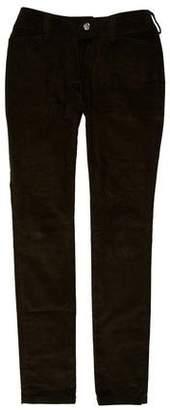 Balenciaga Mid-Rise Skinny-Leg Pants