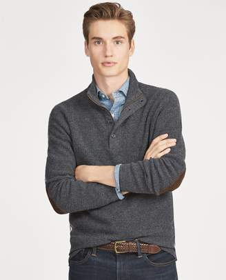 Ralph Lauren Waffle-Knit Merino Sweater