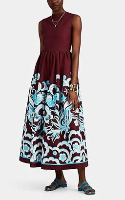 Valentino Women's Floral Wide-Leg Jumpsuit - Red