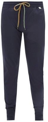 Paul Smith Cotton Jersey Pyjama Trousers - Mens - Navy