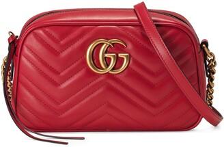 Gucci GG Marmont small matelassé shoulder bag