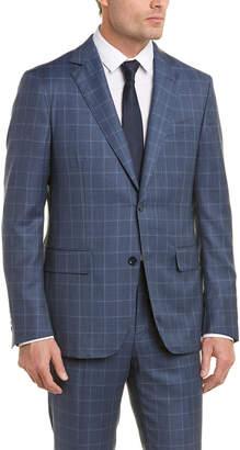 Pal Zileri Wool Plaid Suit