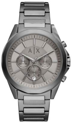 Armani Exchange Chronograph Bracelet Watch, 44mm