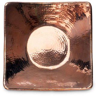 "Sertodo Copper Flat Earth Bowl, 10"""