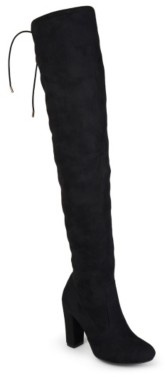 Journee Collection Maya Wide Calf Thigh High Boot