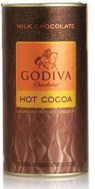 Godiva Milk Chocolate Hot Cocoa Canister