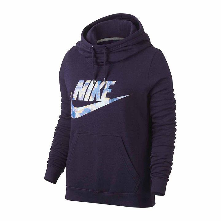 Nike Long Sleeve Cotton Blend Hoodie
