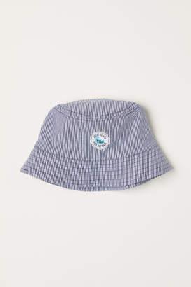 H&M Cotton Sun Hat - Blue
