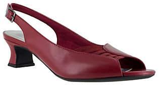 Easy Street Shoes Slingback Peep Toe Pumps - Bliss