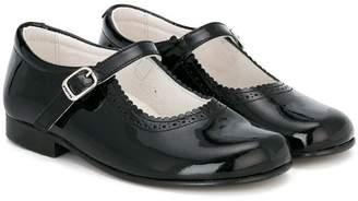Andanines Shoes buckle strap ballerinas