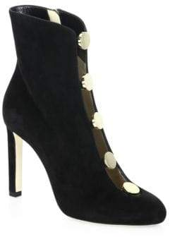 Jimmy Choo Loretta 100 Suede Booties