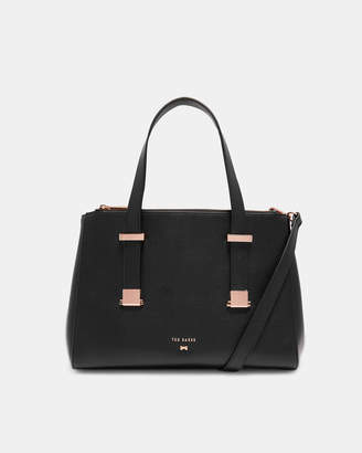 Ted Baker AUDREYY Adjustable handle small leather tote bag