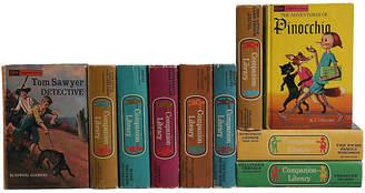 One Kings Lane Vintage Vintage Children's Bookshelf - Set of 10 - Booth & Williams
