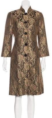 Trina Turk Metallic Lace Coat