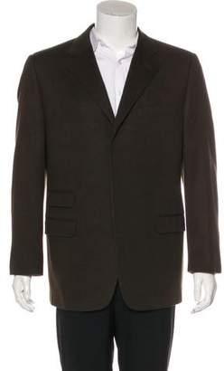 Versace Wool & Angora-Blend Blazer