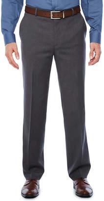STAFFORD Stafford Medium Grey Travel Woven Suit Pants-Slim Fit