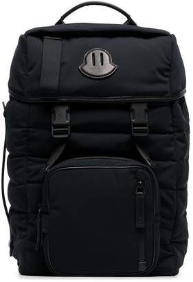 Moncler black Chute Backpack