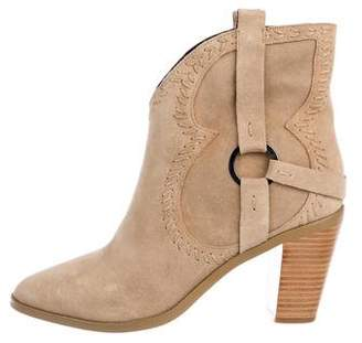 Rebecca Minkoff Suede Ankle Boots