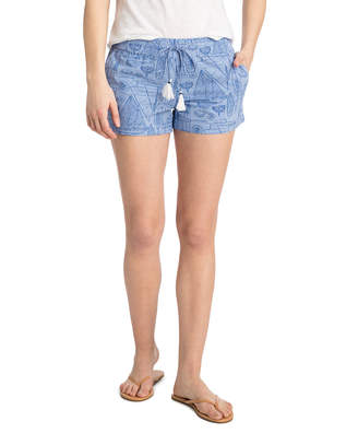 Vineyard Vines Boat Schematic Printed Pull On Shorts