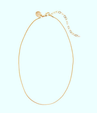 Lilly Pulitzer Charm Necklace Chain