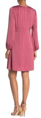 Nine West Empire Waist Solid Dress