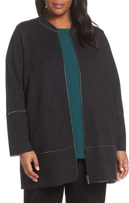 Eileen Fisher Merino Wool Blend Jacket
