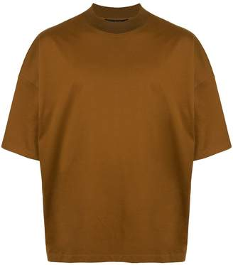 Caban loose-fit plain T-shirt