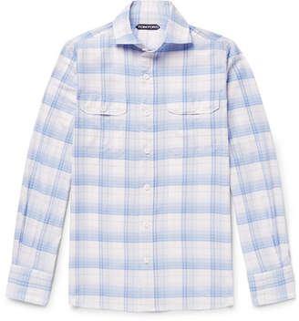 Tom Ford Checked Cotton Shirt
