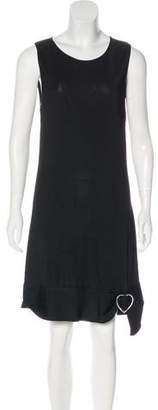 Azzaro Sleeveless Knee-Length Dress